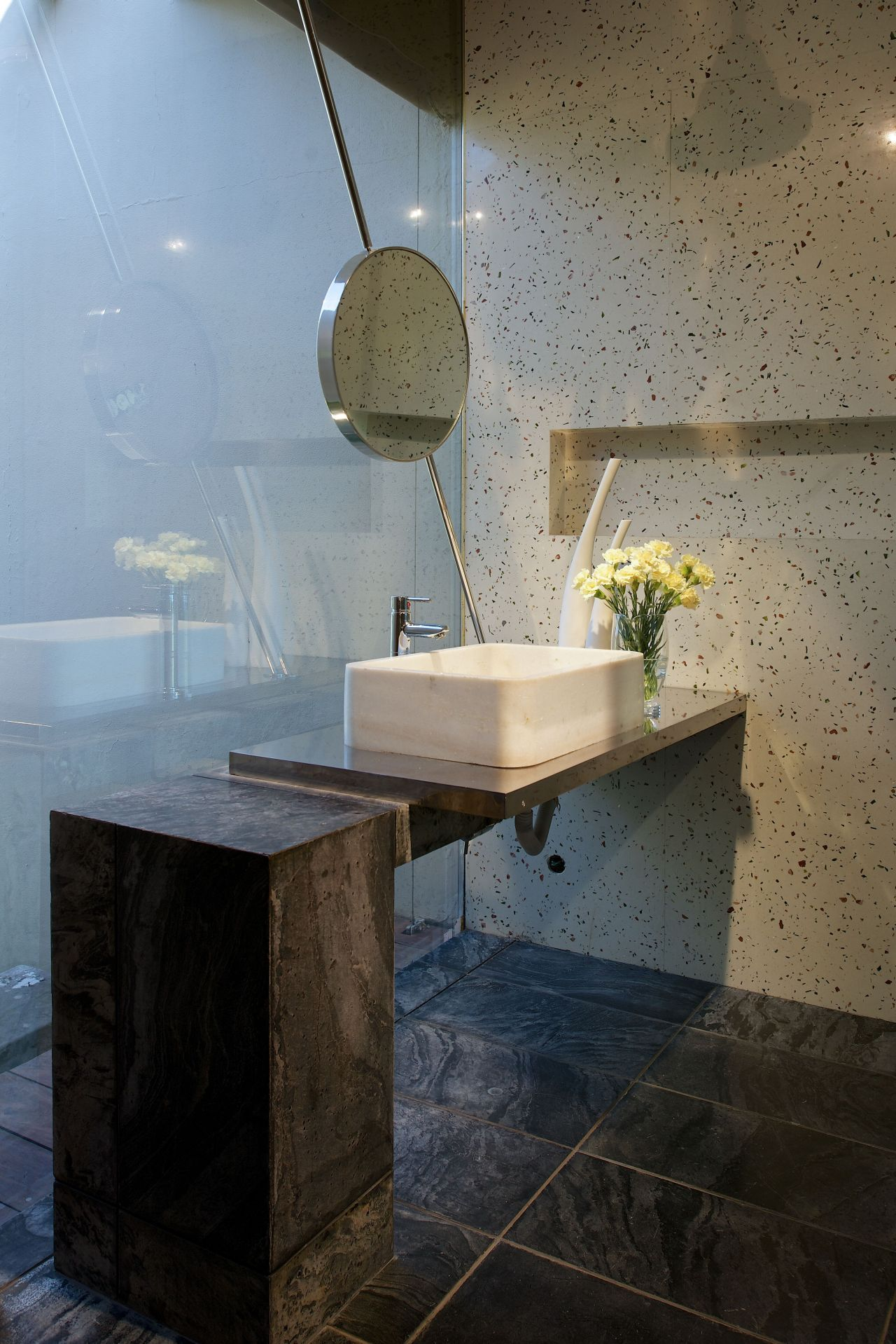 concrete bathroom sinks that make a