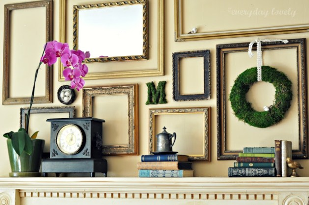 Simplicity And Beyond     How You Can Use Empty Frames As Wall Decor View in gallery