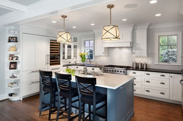 Kitchen Island Different Color Than Cabinets Gnewsinfo