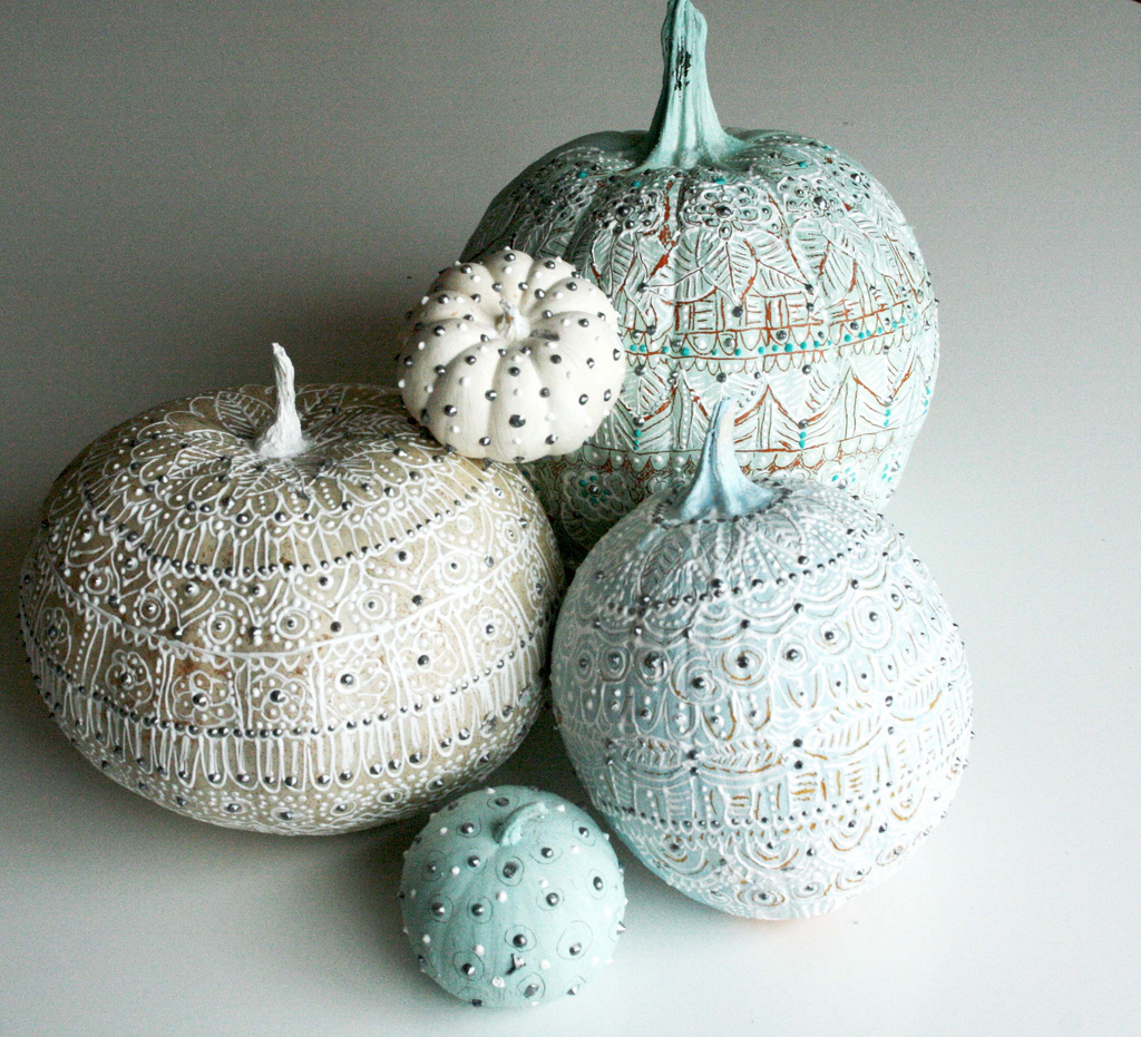 13 Ideas To Take Your Pumpkins From Drab To Fab