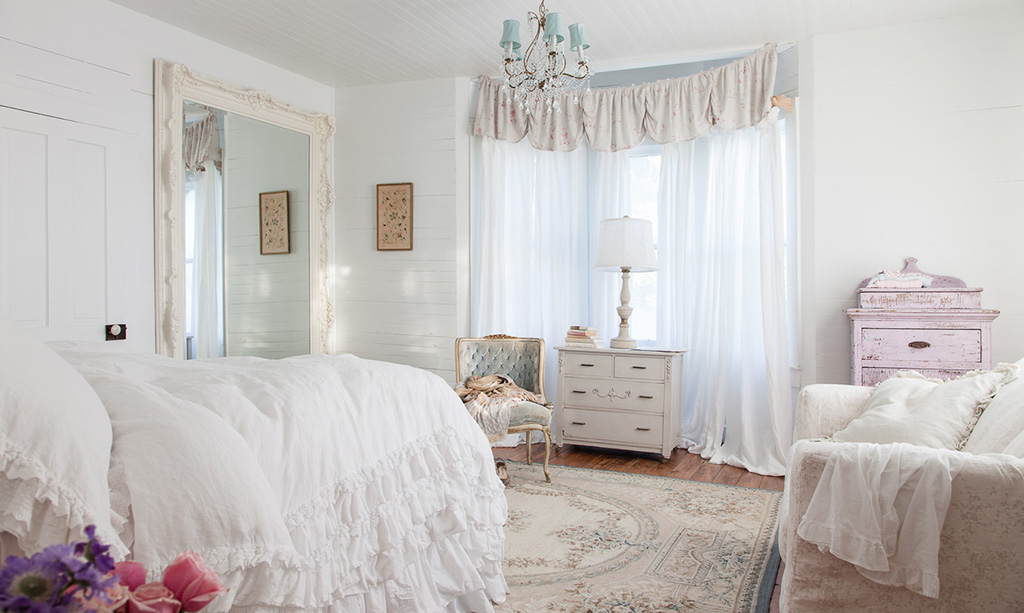 52 Ways Incorporate Shabby Chic Style into Every Room in Your Home Shabby Chic Bedroom