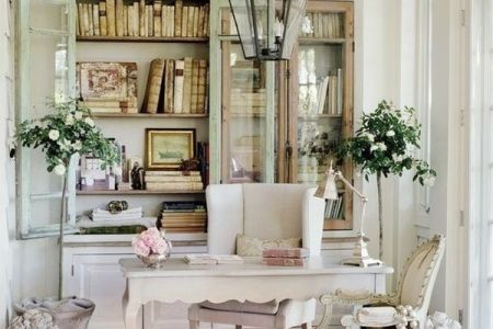 52 Ways Incorporate Shabby Chic Style into Every Room in Your Home Shabby Chic Home Office