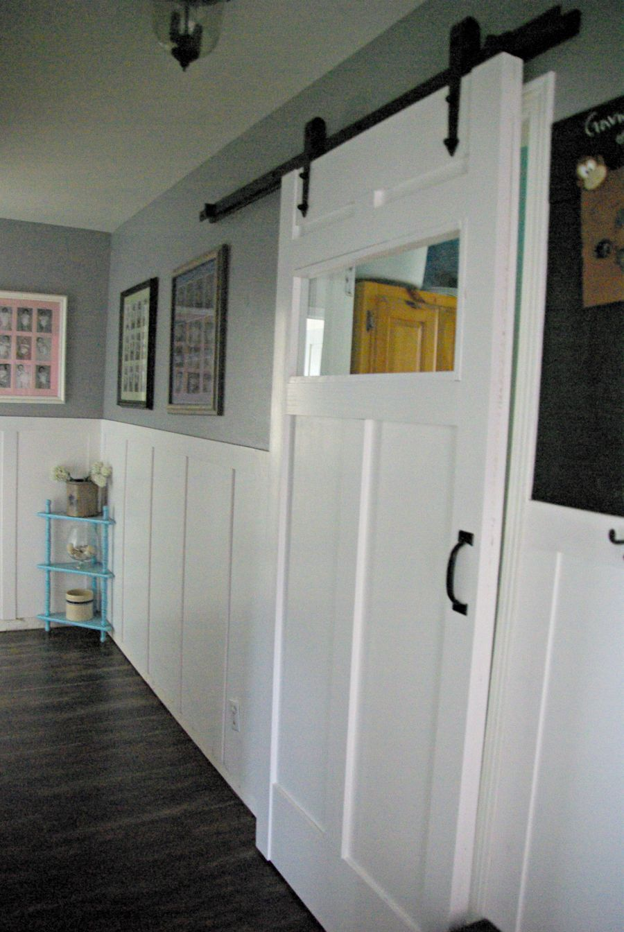 DIY Barn Door Space Saving And Creative