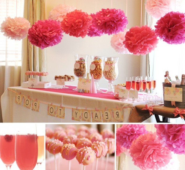 Creative Baby Shower Table Decorations