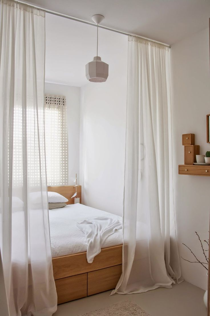 dreamy bedrooms using bed curtains