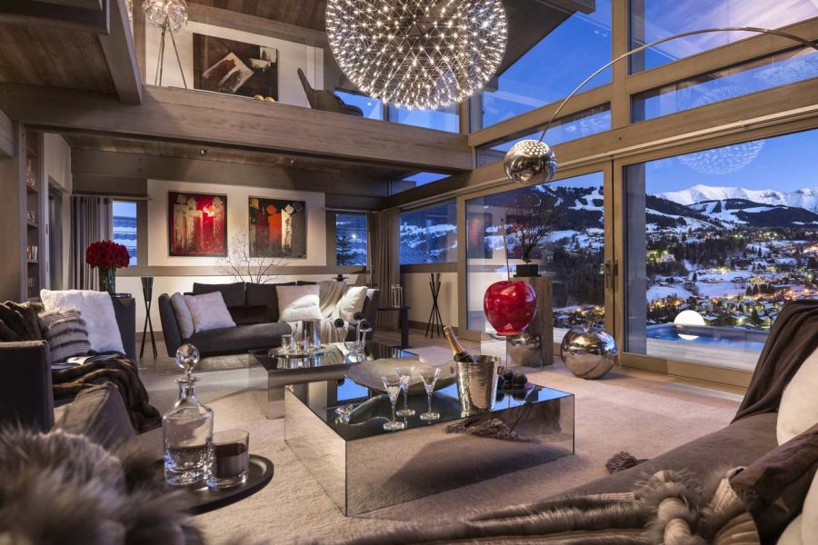 Luxury Chalet Turns The French Alps Into The Perfect Ski