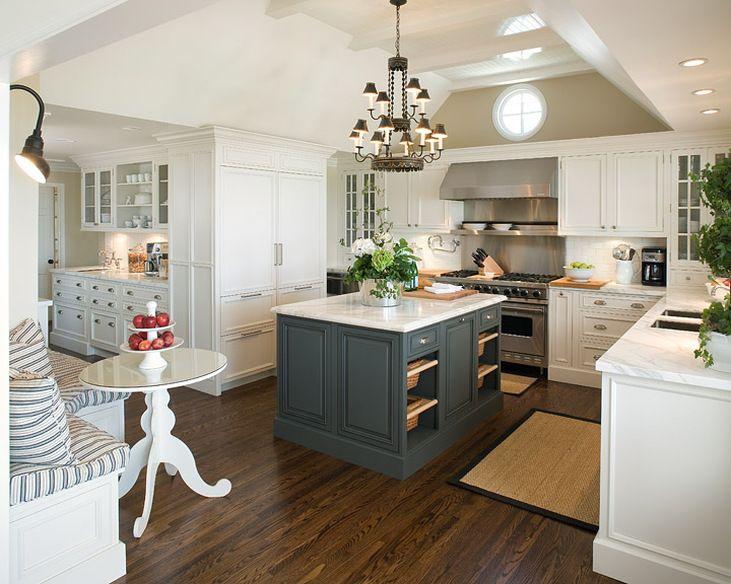 Accent Colors White Kitchen
