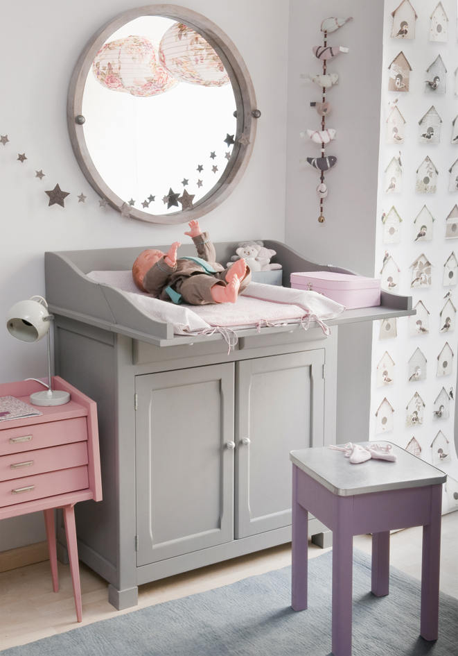 corner baby changing table