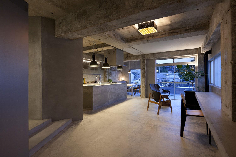Unfinished Concrete Floor