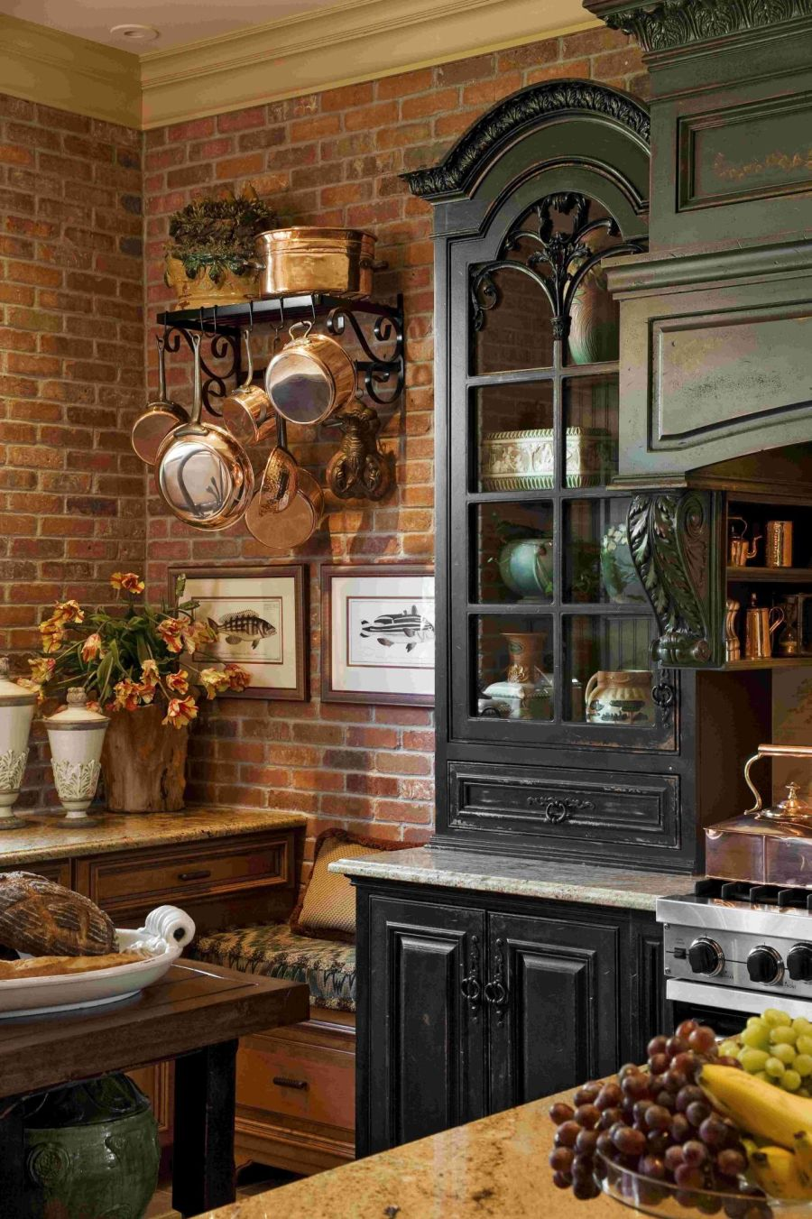 Best Kitchen Gallery: 20 Ways To Create A French Country Kitchen of French Country Kitchen Cabinets on rachelxblog.com