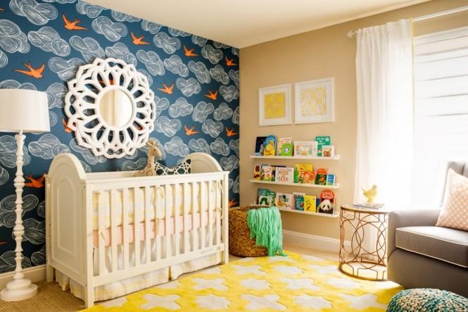Original Child Style 106 Nursery Chevron Wall 4x3