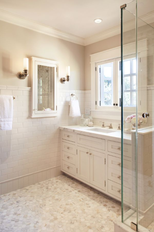 Paint colors for bathrooms with white tile. bathroom enchanting ...