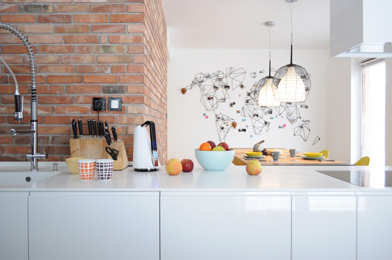 Colorful-apartment-in-Poland-view-from-kitchen