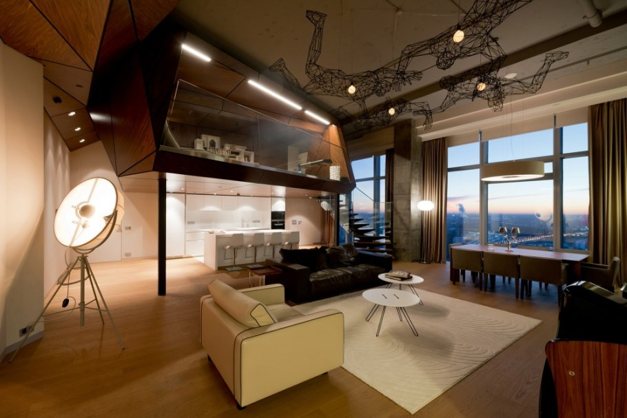 Moscow-penthouse-apartment-living-and-dining-room