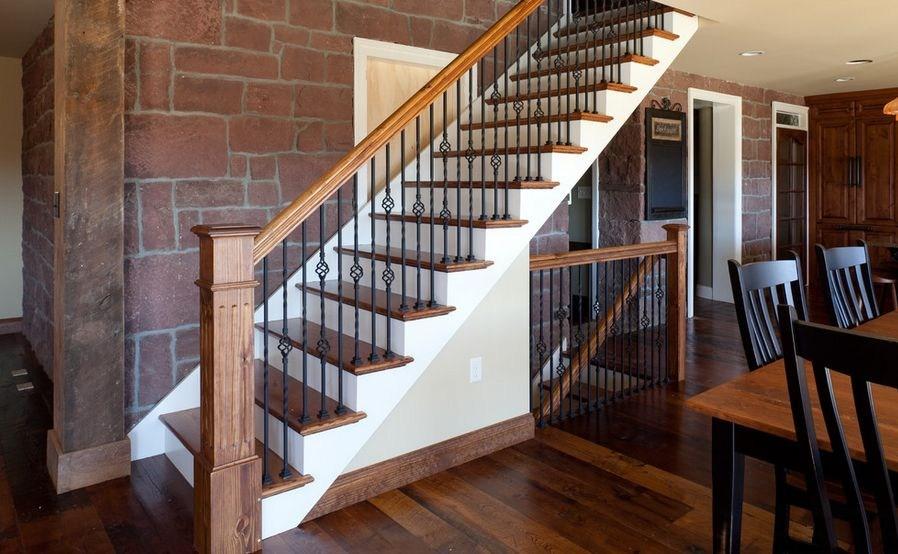 Interior Designs That Revive The Wrought Iron Railings | Metal And Wood Interior Railings | Contemporary | Art Craft | Black Glass Interior | Wood Cap | Metal Exterior Brown