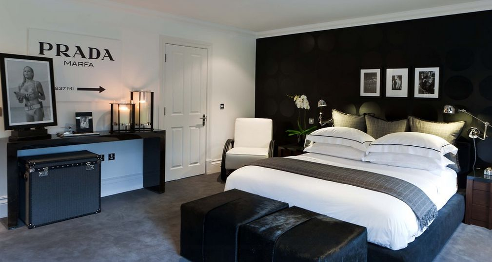 35 timeless black and white bedrooms