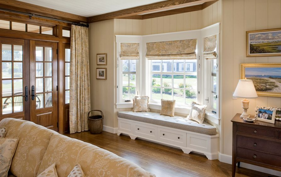 curtain problem when you have bay windows