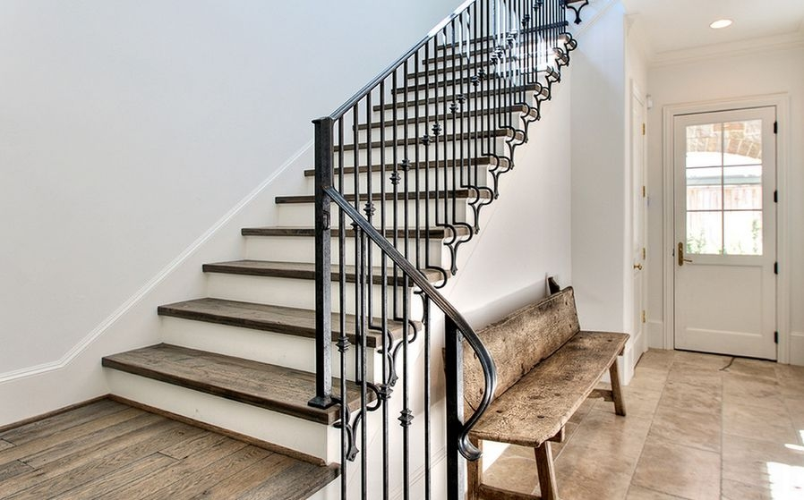 Interior Designs That Revive The Wrought Iron Railings   Modern Wrought Iron Stair Railing   Custom   Farmhouse   Decorative   Luxury   Outdoor