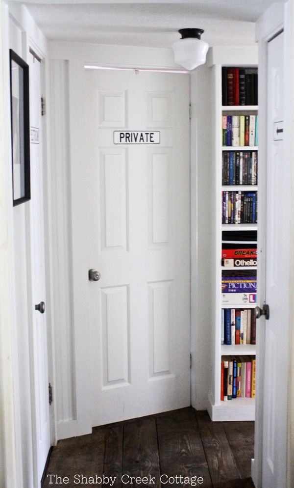 Decorating With Tall And Narrow Bookcases