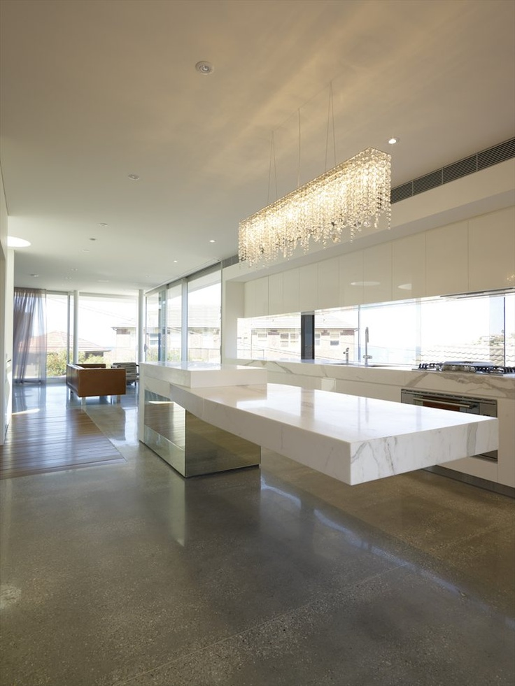 Cantilevered Tables Floating In Modern Luxury Homes