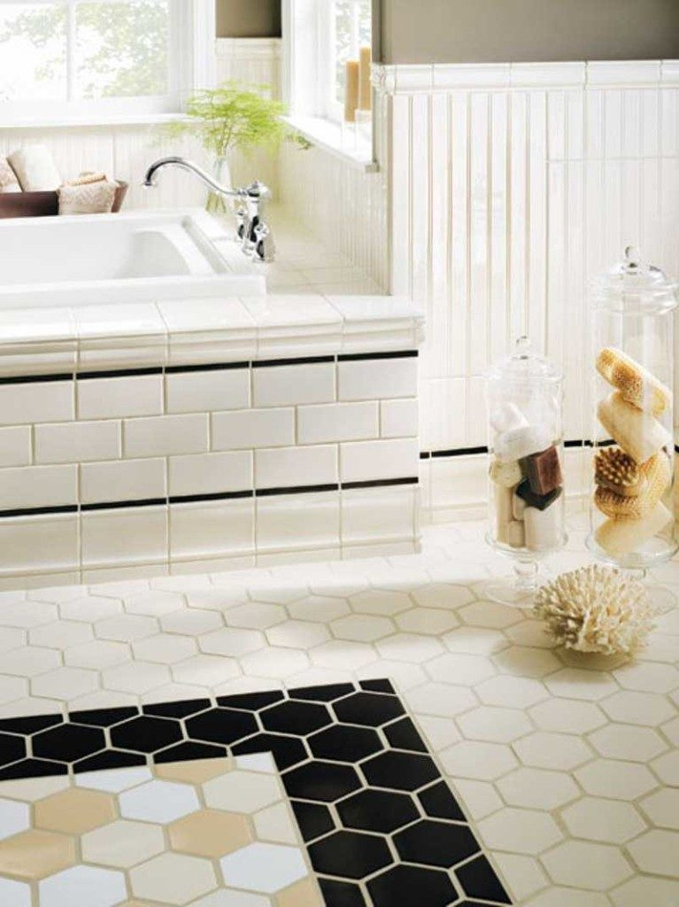 20 functional stylish bathroom tile ideas