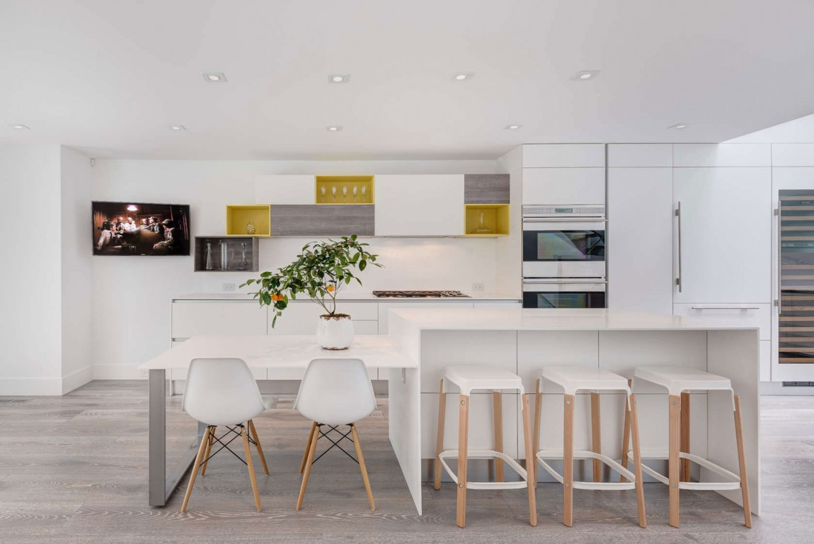 An Old Relic Transformed Into A Modern Bachelors Home