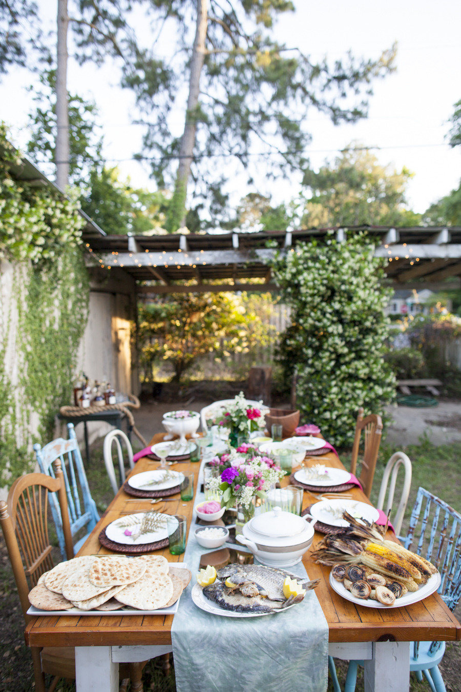 50 Outdoor Party Ideas You Should Try Out This Summer backyard beautiful party decoration love the rustic design