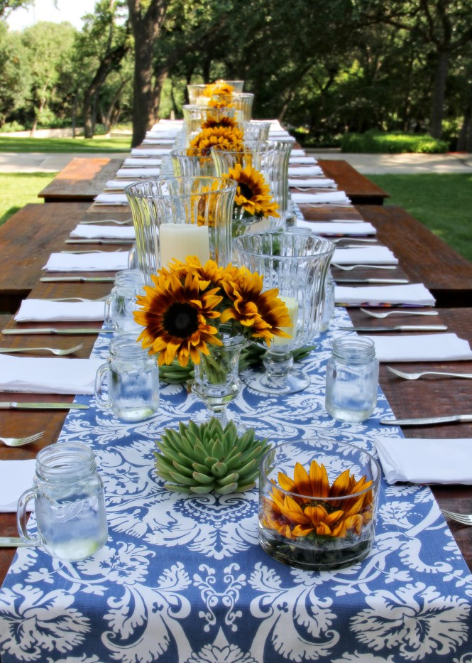 Table Decorating Ideas For Outdoor Party Best Bathroom Creative Cool