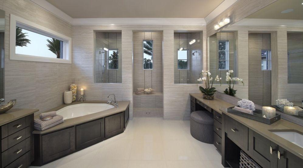 Fresh Designs Built Around A Corner Bathtub