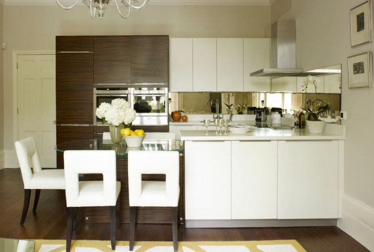 20 Kitchens With Stylish  Two Tone Cabinets London
