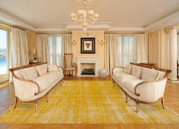 Thinking Outside The Box How To Decorate With Overdyed Rugs