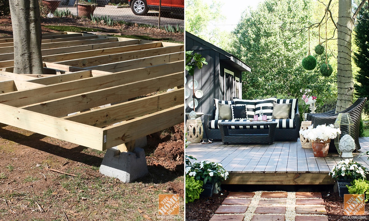 build decorate and enjoy a floating deck