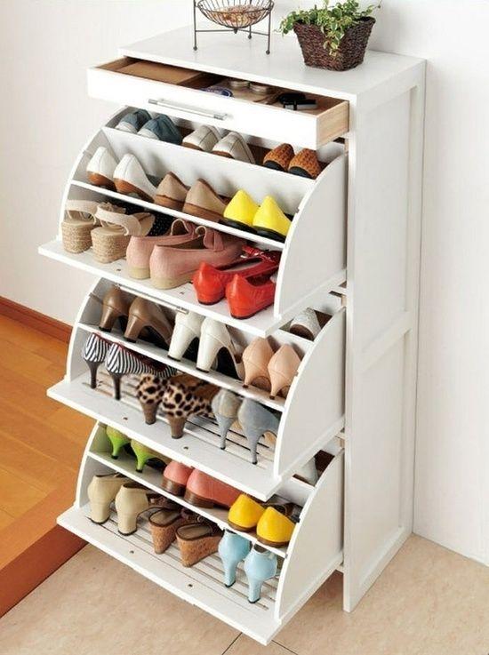 build shoe storage systems