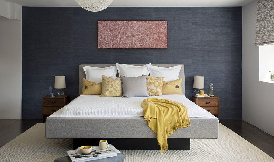 Use painting to establish balance of room