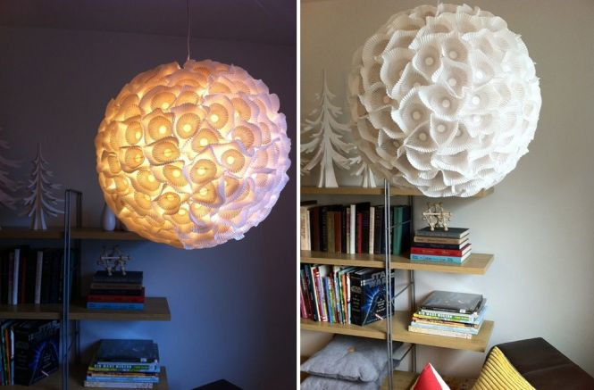 Cupcakes Paper Chandelier