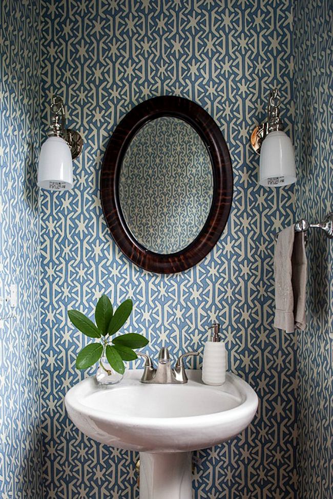 Powder Room Wallpaper Home Decorating Trends Homedi