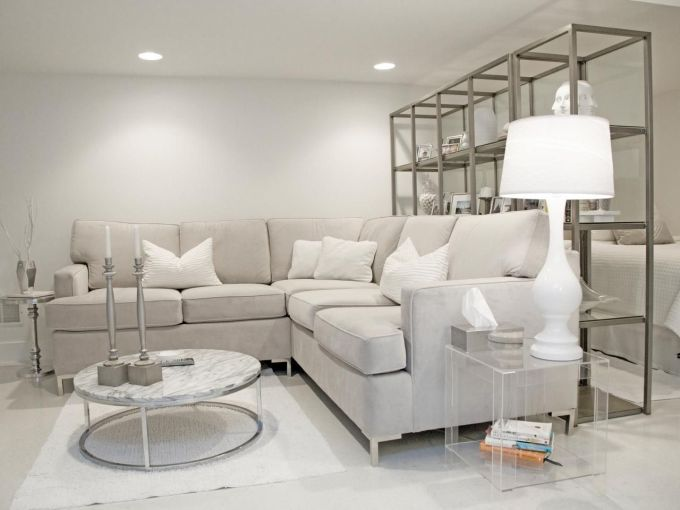 White And Grey Living Room Decorating Ideas | Thecreativescientist.com