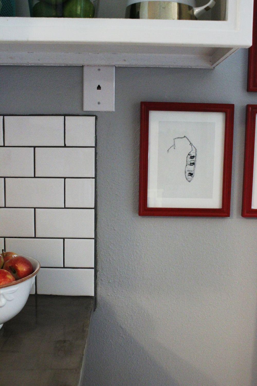 repair drywall for a kitchen backsplash
