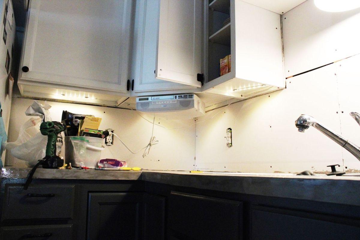 diy kitchen lighting upgrade led under