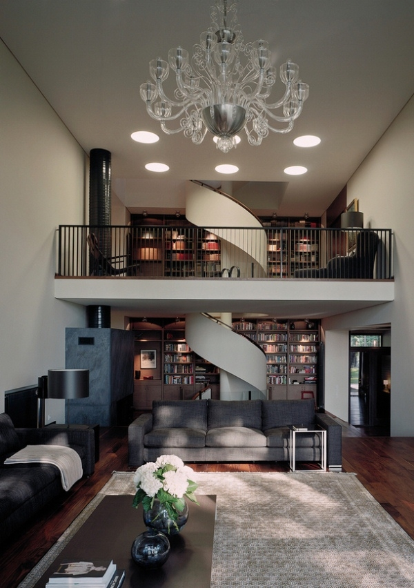 40 Breathtaking Spiral Staircases To Dream About Having In Your Home | Two Story Staircase Designs | Entryway | Stunning | Glass | Two Storey House | 2 Story