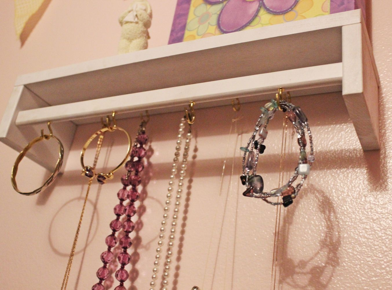DIY Jewelry Holder Out Of Spice Rack IKEA Hack