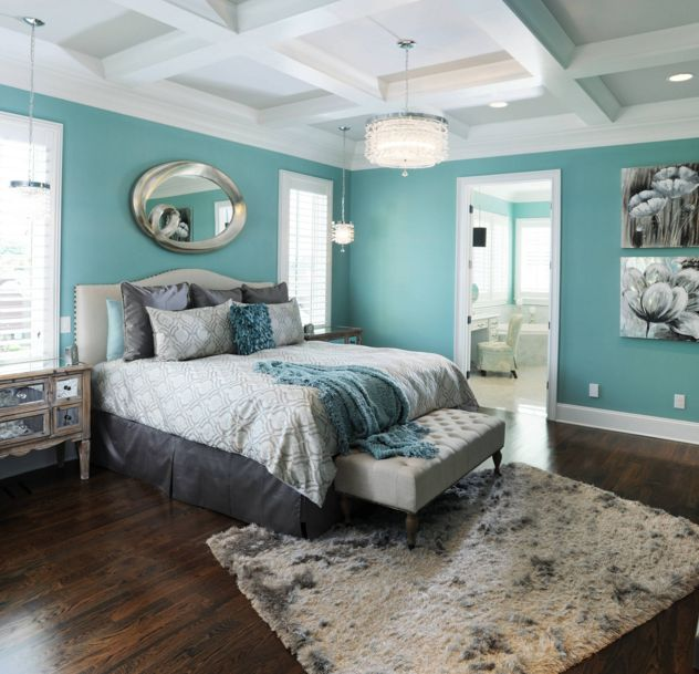 Use Colorful Art Above Your Bed For A Dramatic Effect In Room More Ideas