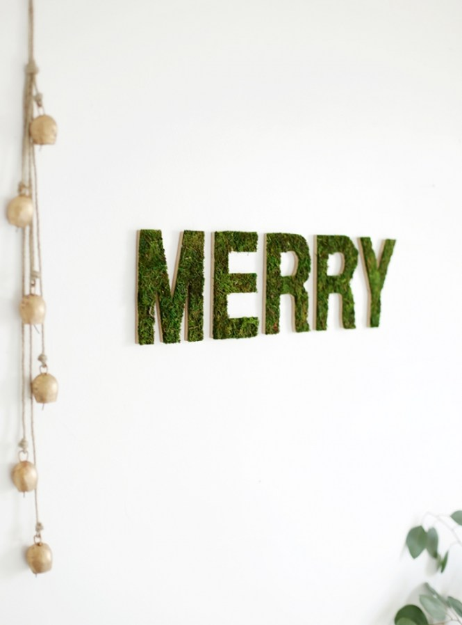 Diy Moss Covered Letters Seasonal Holiday D Cor Wreaths Hung