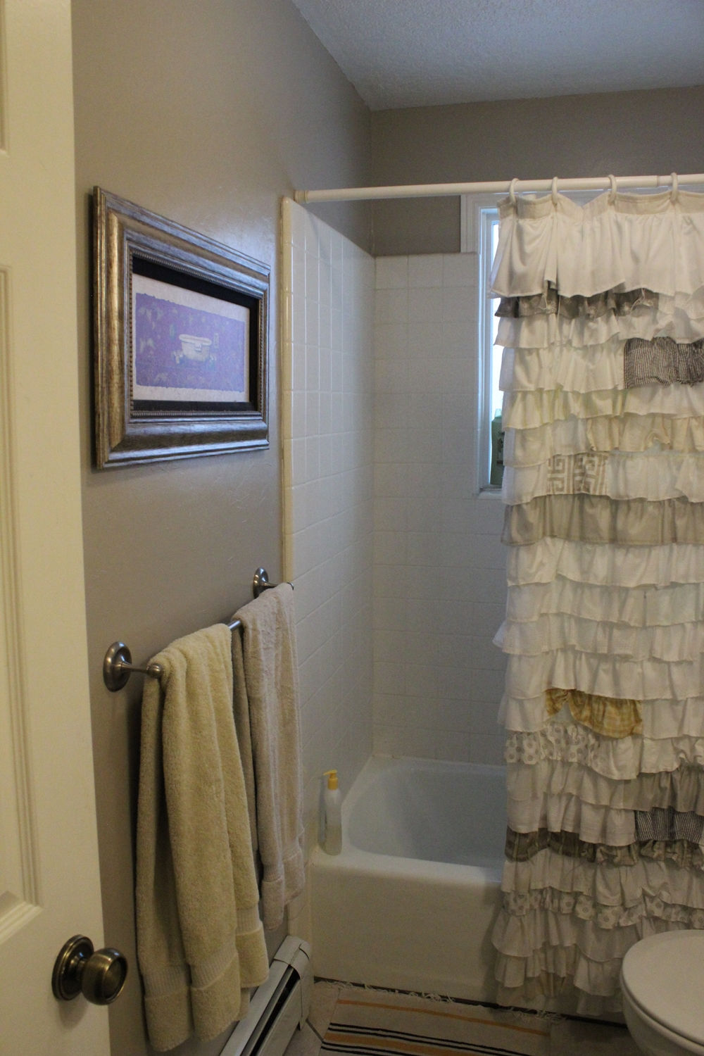 remove a tile tub surround with metal mesh