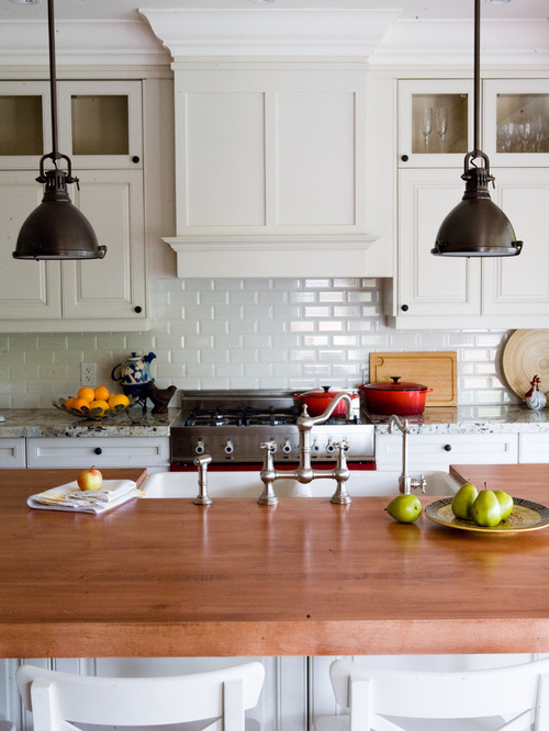 Check Out White Subway Tile Laid Paired