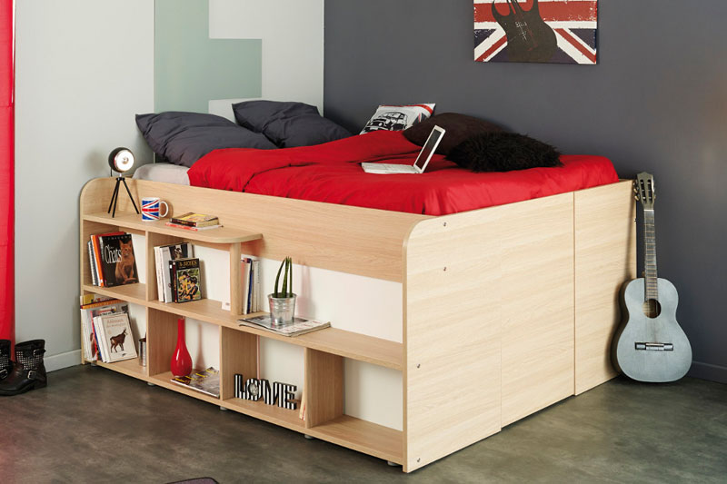 clever bed designs with integrated
