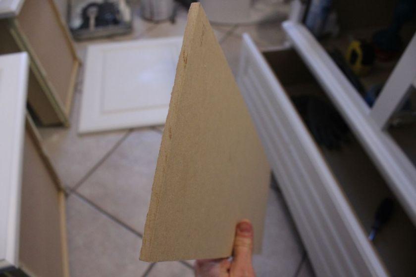 DIY Upgrade Bathroom Vanit-cabinet doors