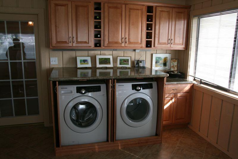 Cubbied laundry washing machine