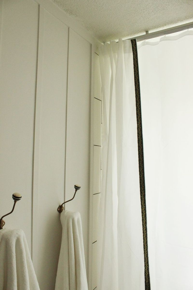 fast customize shower curtains