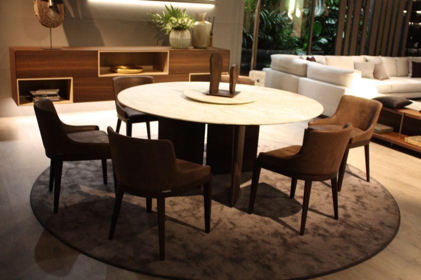 These dining chairs from Misura are versatile and befitting of any dining room style. They are comfortable and fit well at any table shape.